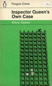 Penguin Books 1962 Crime with modernist graphic cover design and illustration by Romek Marber