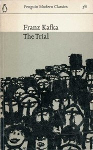 book cover for Ranz Kafka The Trial with illustration by