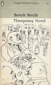 Penguin cover illustration by Georg Grosz for Berthold Brecht's The Threepenny Novel