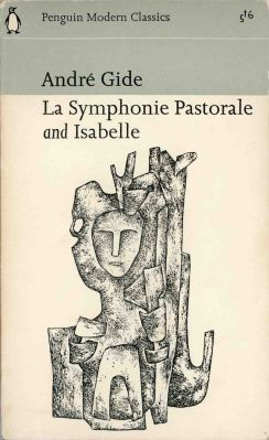 Book cover of Andre Gide La Symphonie Pastorale with illustration by Giovanni Thermes